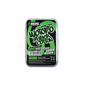 Wotofo Profile Xfiber Watte 3mm (30 Stück pro Packung)