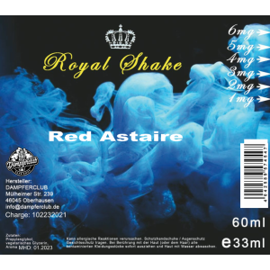 Royal Shake Red Astaire
